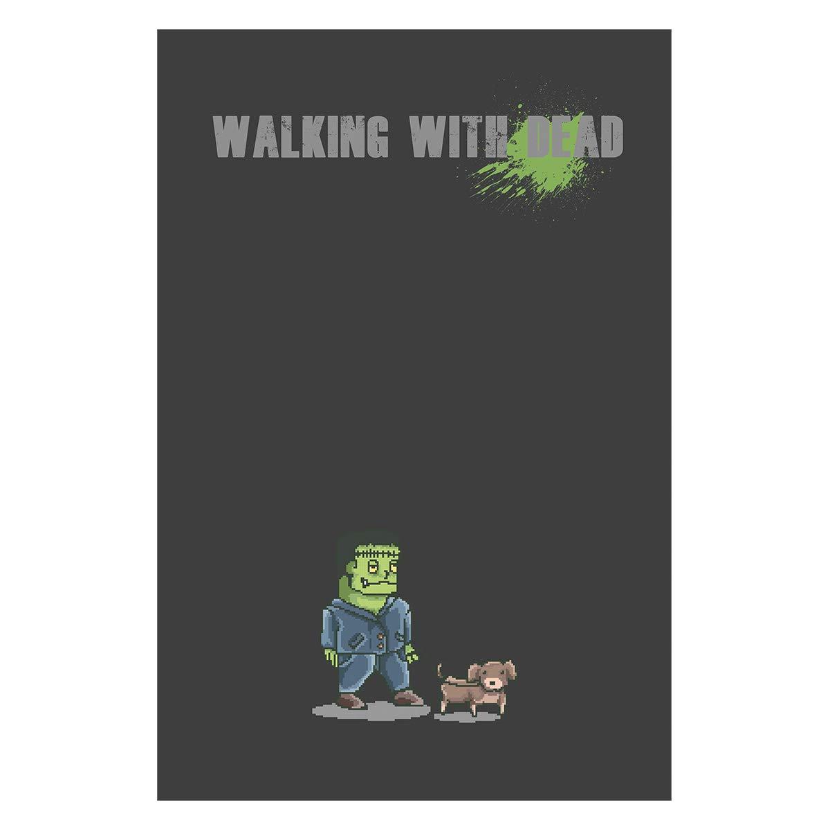 Elbster Pixel Art Cartel Caminar con Muertos - Zombi ...