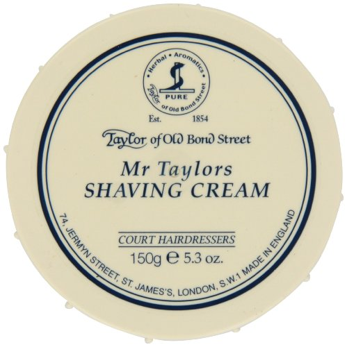 - Taylor of Old Bond Street Mr. Taylor's Shaving Cream,5.3-Ounce
