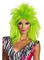 Disguise Jem and The Holograms Pizzaz Adult Costume Wig