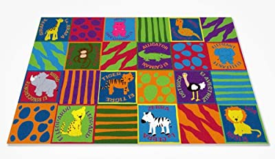 Bilingual Animals Rug