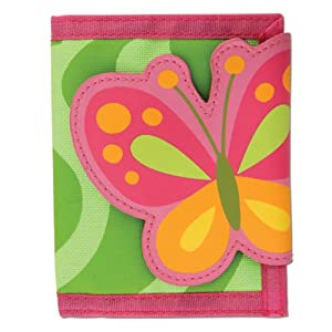 Stephen Joseph Wallet,Green Butterfly from Stephen Joseph Art