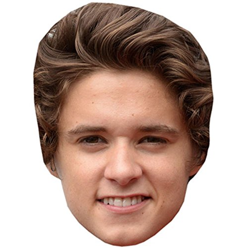 Brad Simpson Celebrity Mask, Card Face and Fancy Dress (Simpsons Fancy Dress Costumes)