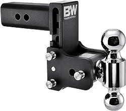B&W Tow & Stow adjustable mount ball Dual Ball 14,500 GTW