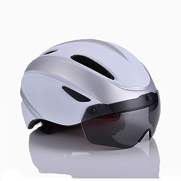 ZHYY Casco para Bicicleta certificación CE Transpirable ...