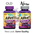 Nature's Way Alive!® Women's 50+ Gummy Multivitamin, Fruit and Veggie Blend (75mg per serving), Full B Vitamin Complex, Gluten Free, Made with Pectin, 130 Gummies