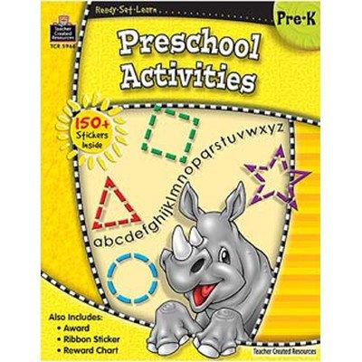 Ready Lrn Preschool Activities Book Set [Set of 3] -