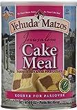 Yehuda Matzos Jerusalem Cake Meal Kosher For Passover 16 oz Pack of 1.