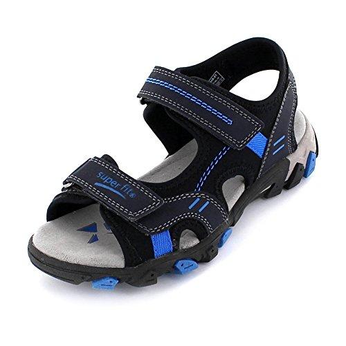 superfittm Sandales Hike, Couleur: Bleu