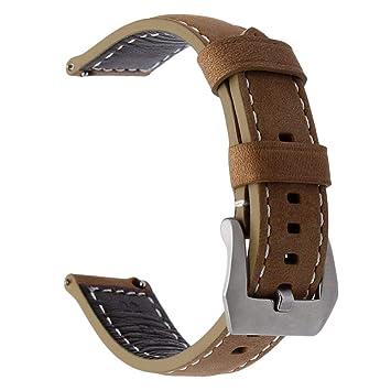 TRUMiRR 22mm Silicona Goma Banda de Reloj Doble Lado Llevar Correa para Samsung Gear S3