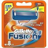 ジレット フュージョン5+1 専用替刃