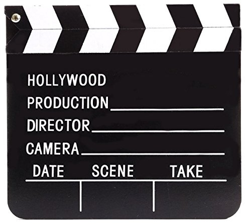 Movie Director Costume Girl (Hollywood Director's Film Movie Slateboard Clapper)