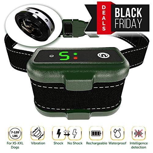 TBI Pro [Newest 2019] Rechargeable Bark Collar