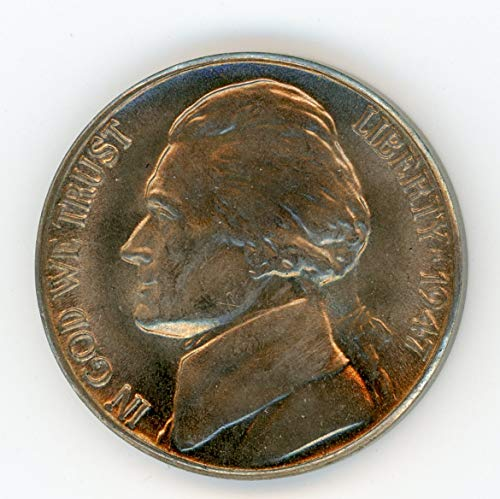 1947 D Jefferson Nickel MS-65