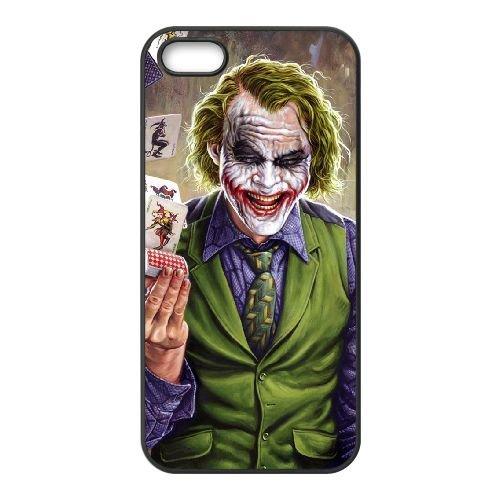 Batman Joker coque iPhone 4 4S Housse téléphone Noir de couverture de cas coque EBDOBCKCO09278