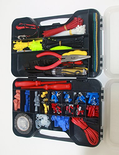 Cambridge 399 pcs Electrical Repair Kit with Case