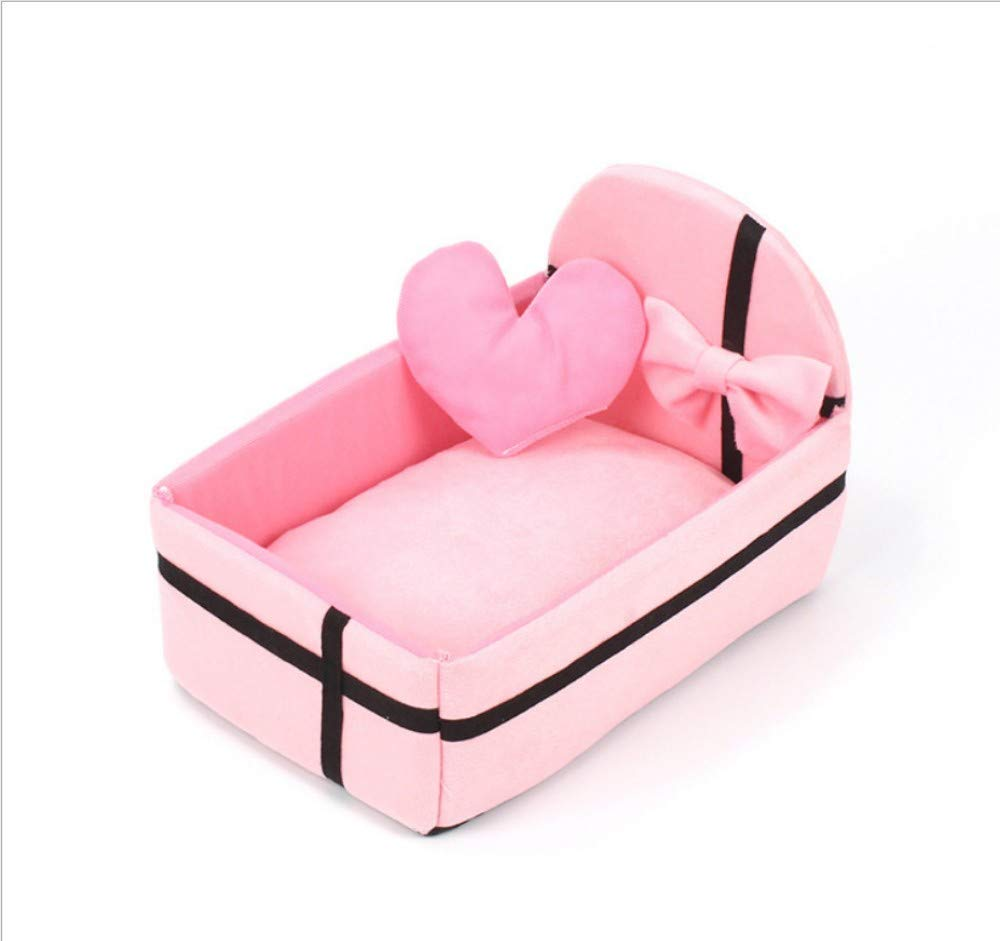 A 40X30X9CM A 40X30X9CM GZDXHN Dog House Plush Cat Nest Pet Supplies Dog Bed Dog Mat Small And Medium Pet Nest Kennel Removable And Washable C