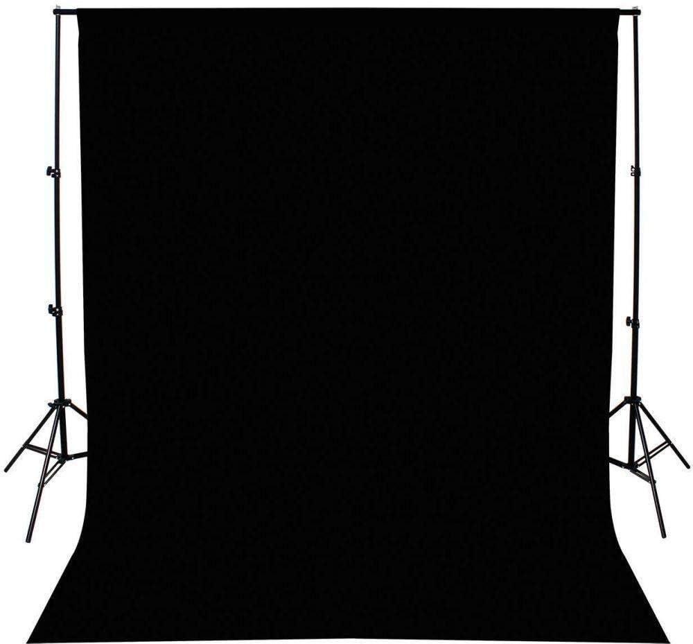 3x3m Non-woven Fabric Photo Photography Backdrop Background Cloth/Black