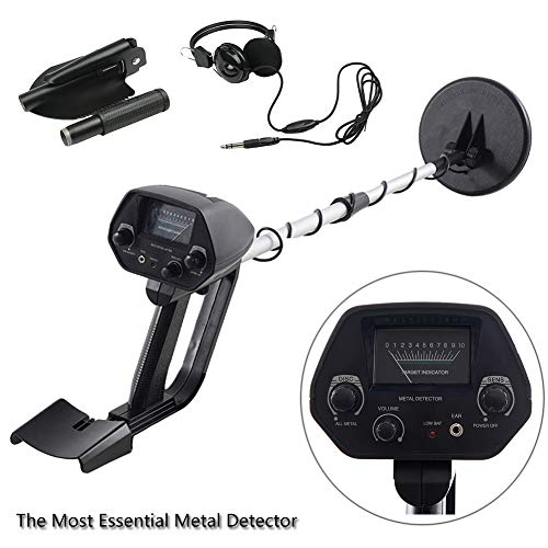 Underground Metal Detector (Kingdetector MD-4030 Pro Edition Hobby Explorer Waterproof Search Coil with shovel Metal Detectors)
