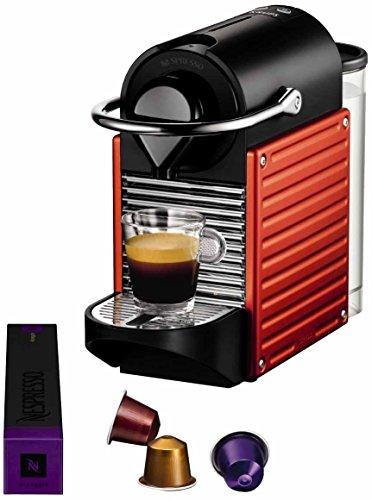 Nespresso-Pixie-Red-YY1202-Krups-Cafetera-monodosis-19-bares-Apagado-automtico-Sistema-calentamiento-rpido-Color-rojo