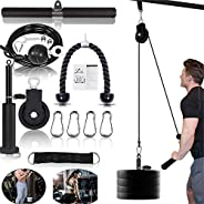 Pulley Cable Machine Men Women Professional Muscle Strength Fitness Equipment Forearm Wrist Roller Training fo