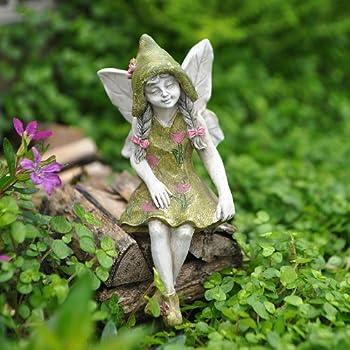 1 X Miniature Garden Fairy Michelle