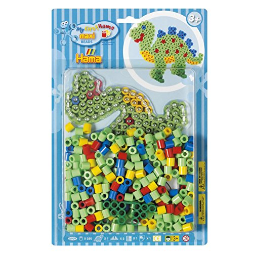 Hama Beads My First Dinosaur Starter Kit