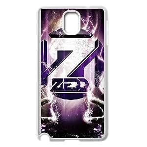 Samsung Galaxy Note 3 Cell Phone Case White Zedd bvtz