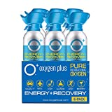 Oxygen Plus 99.5% Pure Recreational Oxygen Cans