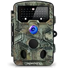 APEMAN Trail Camera 12MP 1080P Super Waterproof Hunting & Wildlife Camera with 120° Wide Angle 44 Pcs IR LEDs Night Version up to 20M/65FT