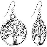 #7: Body Candy Tree of Life Dangle Earrings
