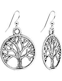 Body Candy Tree of Life Dangle Earrings