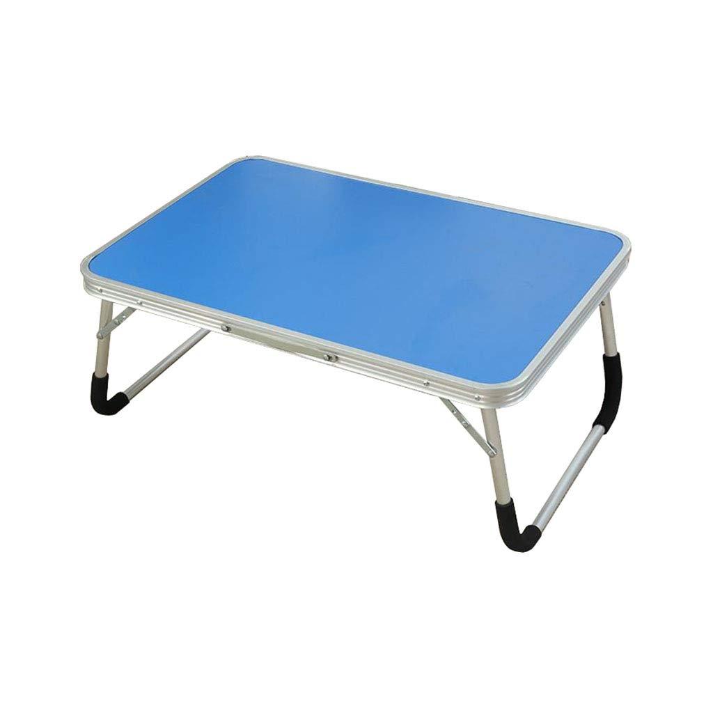 Escritorio de la Tabla de del la Cama del de Ordenador portátil Soporte de Lectura Plegable para Bandeja de Desayuno aleación de Aluminio (Azul) 4eaee4