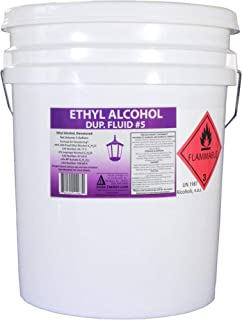 product image for 5 Gallon Pail of Denatured Ethanol with 200-Proof Ethyl Alcohol IPA and NP Acetate