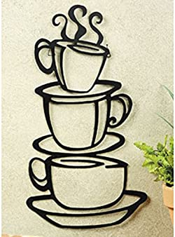 related image of Super Z Outlet Black Coffee Cup Silhouette