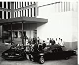 The Black Beauty and Batmobile Together with Batman Green Hornet Adam West Van Williams 8 x 10 Photo