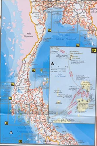 MAP GUIDE THAILAND: ISLANDS IN THAILAND: LTD. / Bangkok (Thailand ...