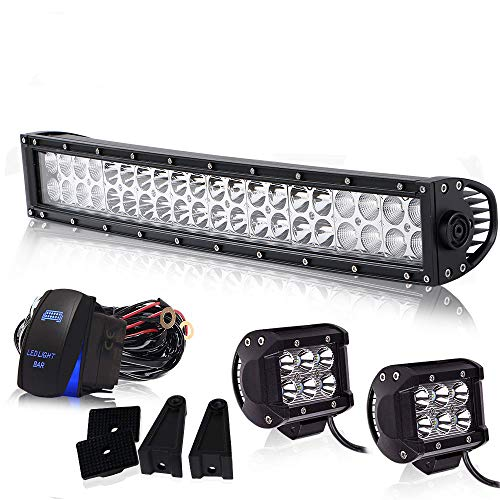 Spead-Vmall Led Light Bar Curved 20/22