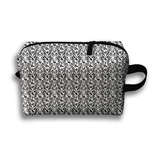 Travel Cosmetic Bag Portable Handbag Converse Vintage Desktop Toiletry Pouch Small Makeup Bags Case Organizer -