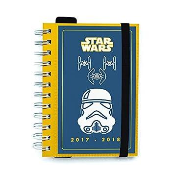 Grupo Erik Editores Agenda Escolar 2017/2018 Star Wars Trooper (Editado en Italiano)
