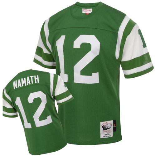 Mitchell & Ness New York Jets 1968 Joe Namath Authentic Throwback Team Color Jersey Size 40 ()