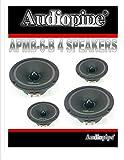 6 inch mid range speakers - (4) AUDIOPIPE APMB-6 6.5