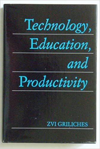 Book Technology, Education and Productivity: Essays in Applied Econometrics