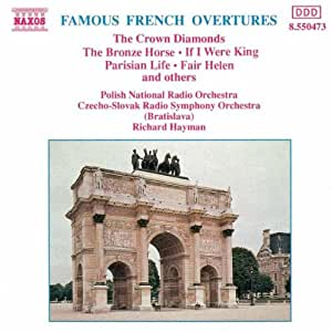 Famous French Overtures