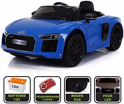 Voiture électrique enfant Audi R8 Spyder 12V Noir