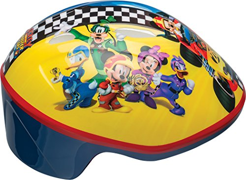 - Bell 7084298 Mickey Mouse & The Roadster Racers Toddler Bike Helmet