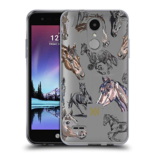 Official Marie-Antoinette Horses The Garden Soft Gel Case for LG K4 (2017) / Phoenix 3