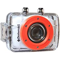 Polaroid XS7 Waterproof Hi-Def HD Sports Video Camera Camcorder with 8GB Memory Card with Helmet & Bike Mounts