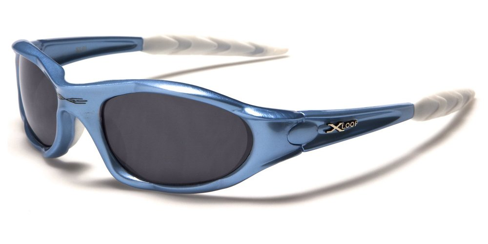 X-Loop 'Extreme' Ski & Sporting Sunglasses for Adults - Unique Size - UV400 Protection - Running/Skiing/Snowboarding/Fishing/Cycling - (With Vault Case) X-Loop Lunettes