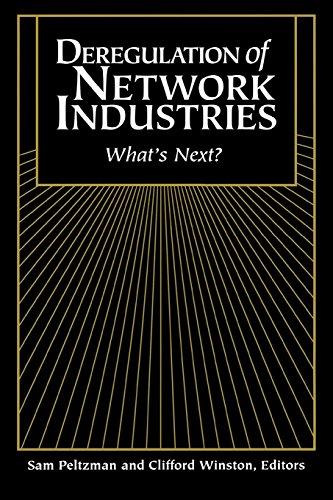 Deregulation of Network Industries: What's Next?