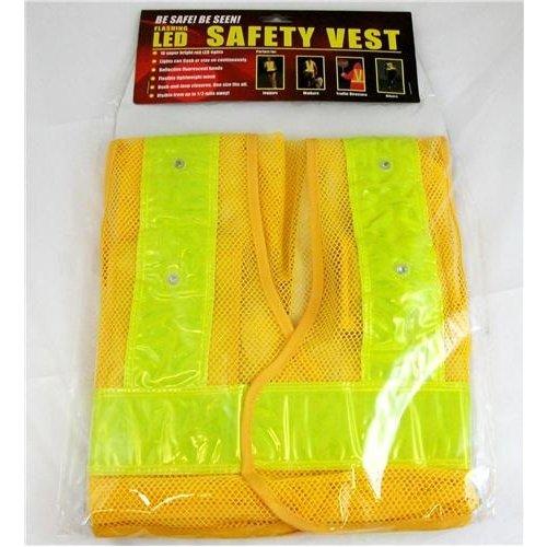 MAXSA Reflective Safety Vest / LED Light / MXS-20026 /